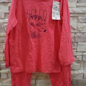 Kiabi -костюм-пижама девочке 4 года-98-107 см