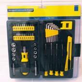 Набор инструментов в пластиковом кейсе 45 предметов!