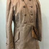 Тренч, плащ, куртка качество супер! размер м, беж, хаки, серый