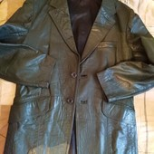 Кожаный пиджак Англия.