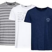 Стильная отличного качества футболка 100% хлопок Livergy Германия размер 52\54 L