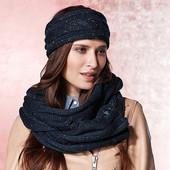 Тёплый вязанный шарф-снуд от тсм Tchibo (чибо), Германия