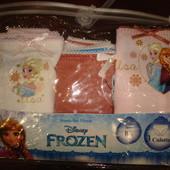 Disney-набор 3 шт трусики девочке 8 лет