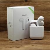 i8 Mini беспроводные Bluetooth наушники с поддержкой всех смартфонов на любой операционной системе