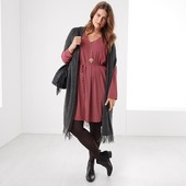 Оригинальное туника- платье с принтом от Tchibo (германия) размер 44 евро=50-52