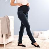 Стильные , комфортные джинсы для будущих мамочек ( для беременных) от tchibo размер 40 евро=46-48
