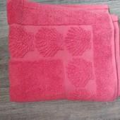 ☘ Качественное махровое полотенце из органического хлопка, Tchibo(Германия), 80*50 см