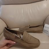 Новые туфли Esmara, эконубук, 25,5 см по стельке