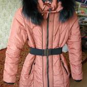 Пальто куртка зимнее 48 р.