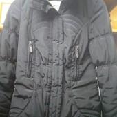 Черная Деми куртка, размер S,M.