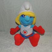 смурфетта мягкая игрушка 39 см оригинал smurfs