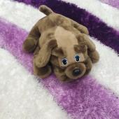 Большая милая Собачка-подушка в отличном состоянии ищет друга! Размер 40 см