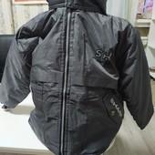 Зимняя фирменная куртка на подростка