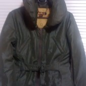 Куртка темно зелёного цвета