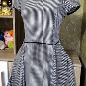 Собираем лоты!! Фирменное платье с модным принтом, размер s