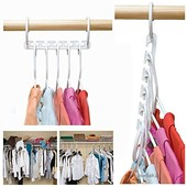Органайзер-вешалка для одежды Wonder Hanger. Полезная вещь для дома. В лоте набор из 2 штук!!!