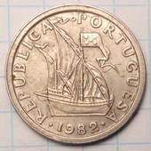 2.5 эскудо 1982 год Португалия