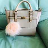 Новая!пудрово-розовая сумочка Atmosphere из Англии,с вит рины дорогого бутика