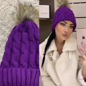 Женская шапка цвет на выбор (на фото 2)