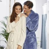 Плюшевый мягусенький банный халат Miomare Германия евро 44\46
