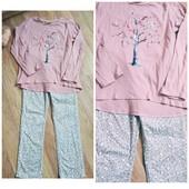кофточка ZARA+джинсики, по бирке,кофта на 9-10л,штаны H&M,6-7л.в идеальном состоянии.