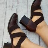 Самые удобные в мире туфли! Кожа. Стелька 25 см