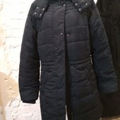 Качество!!! Новая куртка еврозима темно-синего цвета от esmara, р.42/16, наш 48-52