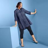 Мягкая и нежная блуза-туника из био-хлопка от Tchibo(Германия), размеры наши: 54-58 (48 евро)