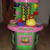Детская кухня Технок с набором посуды