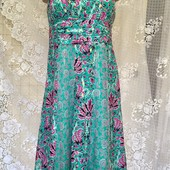 платье из шелка Monsoon