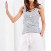 Стильные мягкие шортики белого цвета ТСМ Tchibo (Германия), размер 40/42 евро (46/48 наш)