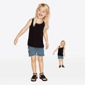 Джинсовые шорты на девочку Lupilu модная коллекция heidi klum размер 116