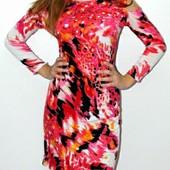 Яркие платья с вырезами на плечах, цвет и размер на выбор!