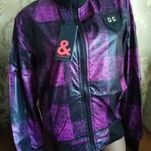Женская демисезонная куртка d&g. размер L (50-52).