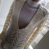 Скидка УП-10%. Красивый женский джемпер с люрексовой нитью. размер 46,48,50