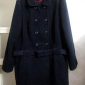 Пальто тёмно-синего цвета 22р