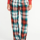 Пижамные штаны фланель батал размер наш 58-62