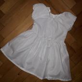 Стоп!❤Красивое нарядное блестящее платье 1-2года одето раз.как новое! Много красивых лотов!❤