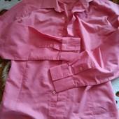 Яркая мужская рубашка. Состояние новой!!!