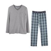 Отличная мужская пижама домашний костюм,лонгслив+штаны,Livergy. Размер L, евро 52-54
