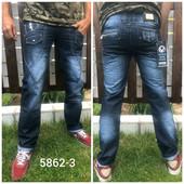 Фирменные качественные джинсы мужские Vigoocc, Турция, 100% коттон. 28, 29, 30, 31 pp, качество!