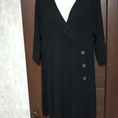Фирменное трикотажное платье из вискозы в состоянии новой вещи р.14-18
