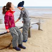 ☘Дождевые брюки Tchibo (Германия) для активных детей! Не продувается, не промокает, размер: 146-152