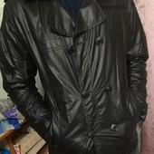 """Стильная мужская деми.куртка- ветровка """"Scors mihail"""" небольшой утеплитель, р. S (на м-л). См.замеры"""