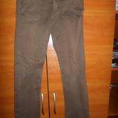 Коричневые брюки.не секонд!брюки на подростка.