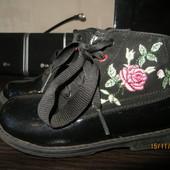 Красивые деми ботиночки для девочки