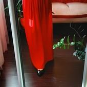 Яркая длинная красная юбка р36 в прекрасн сост + кофточка .Весна, лето