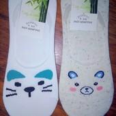 Носки следы отличного качества 2 пары на выбор в лоте, размер универсальный 37-40