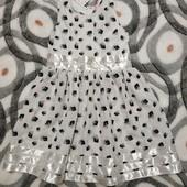 Нарядное платье для девочки р 116
