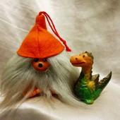 Симпатяжки ищут Друзей:)))) В лоте милый чудик (можно как подвеску) и маленький дракончик - оба!